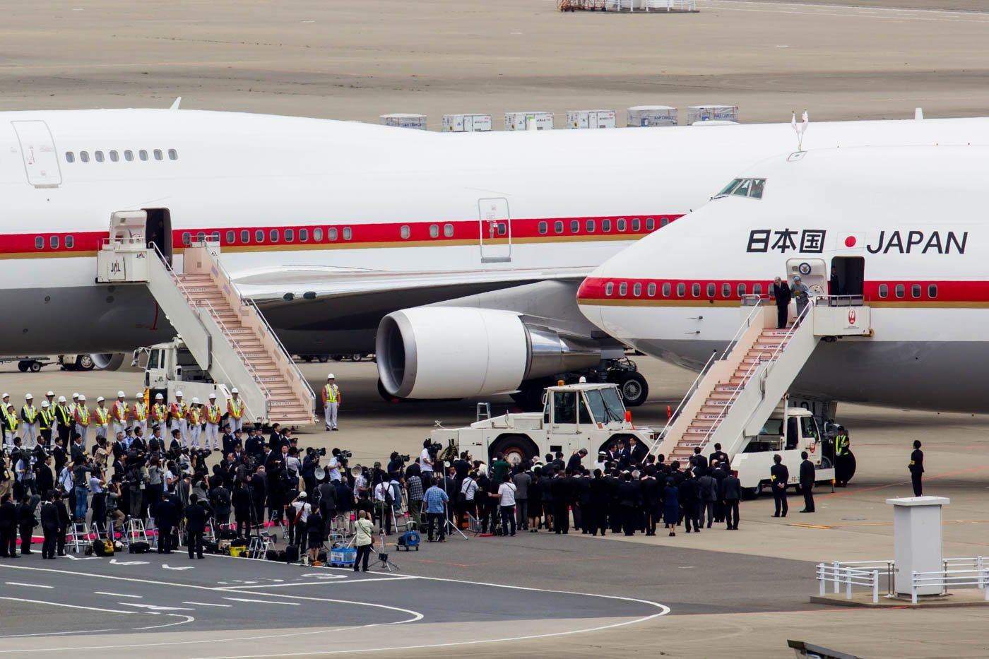 Japan Air Self Defense Force Boeing 747-400