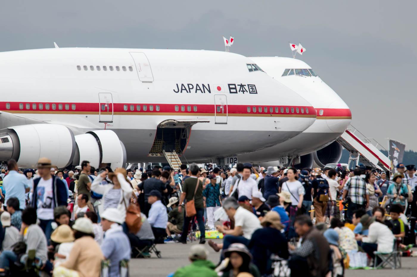 JASDF 747 at Chitose Air Festival