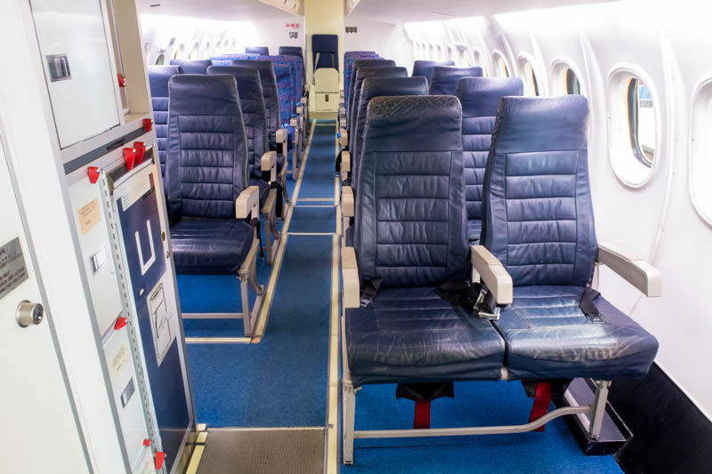 Cabin of Dash 8 Mock-up