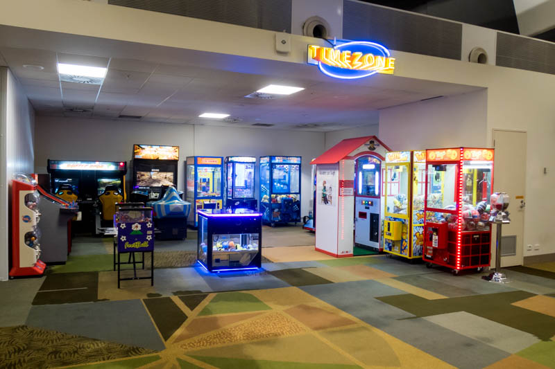 Arcade at Christchurch Airport