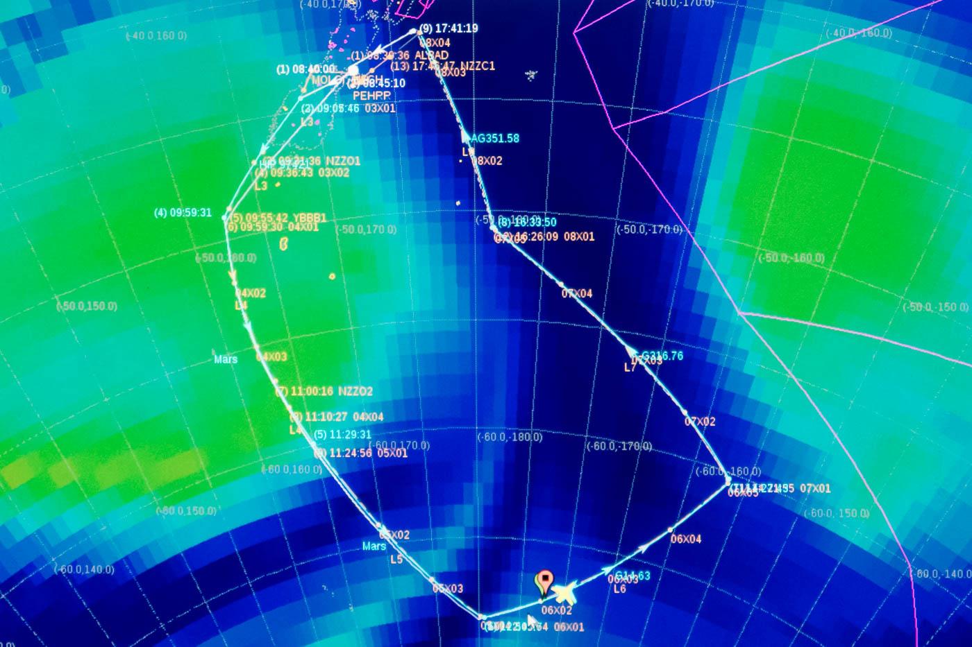 NASA SOFIA Flight Plan