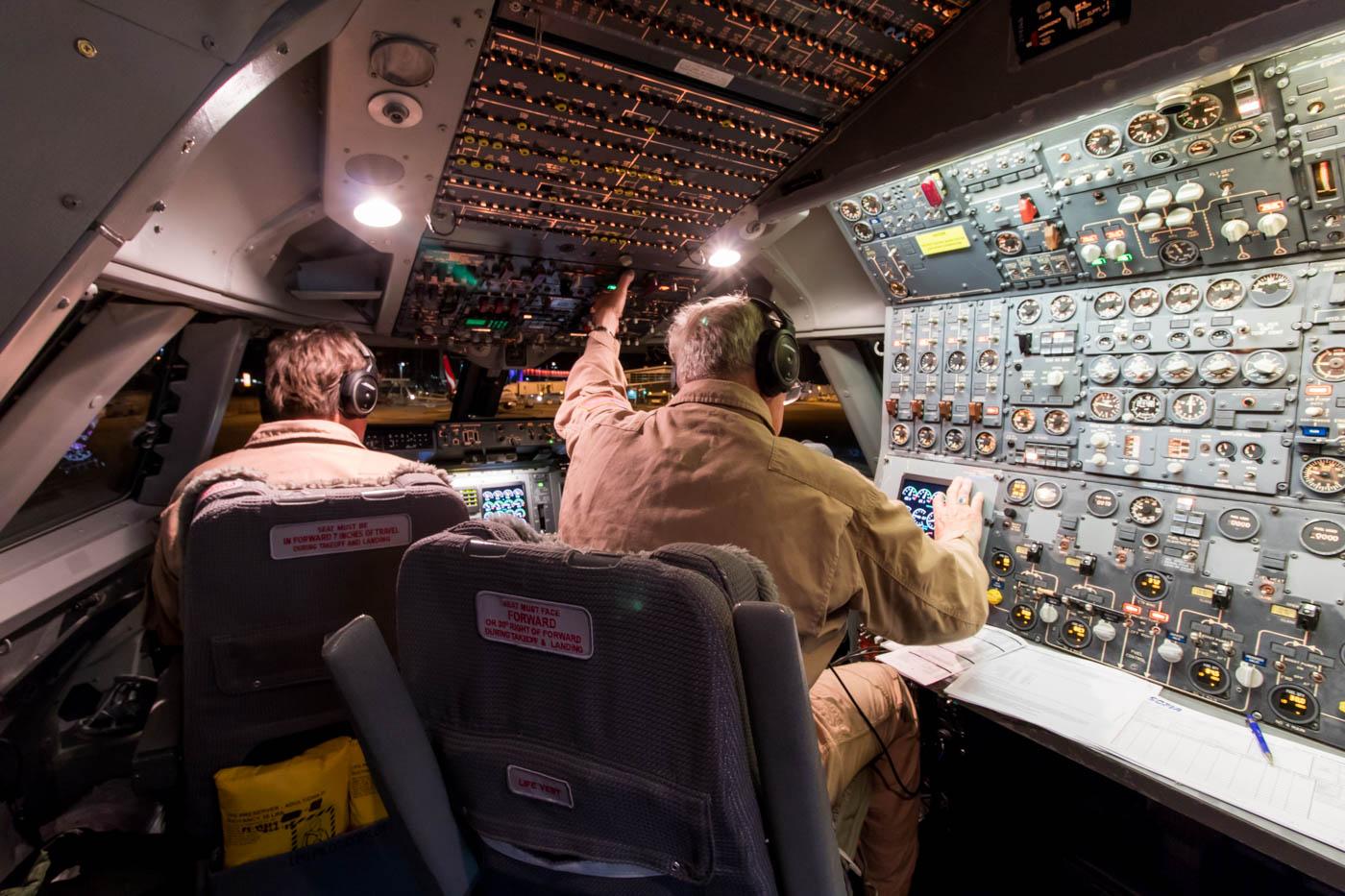 NASA SOFIA 747SP Cockpit