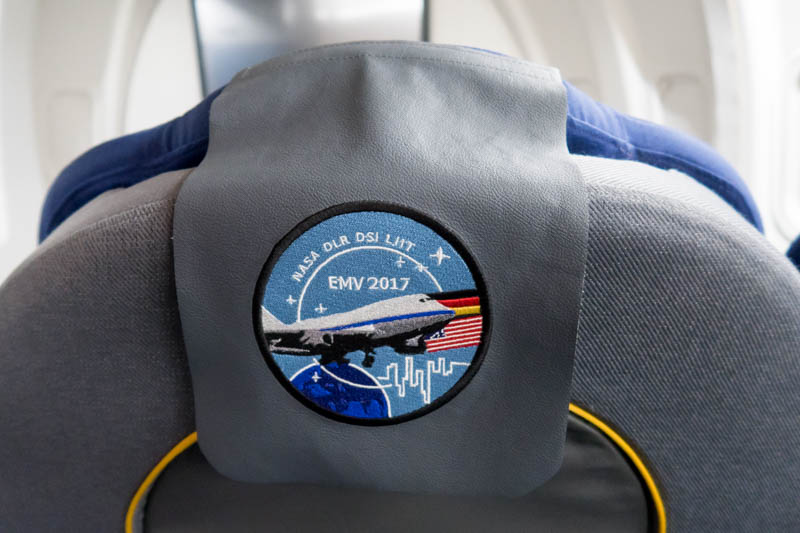 NASA SOFIA Seat Cover