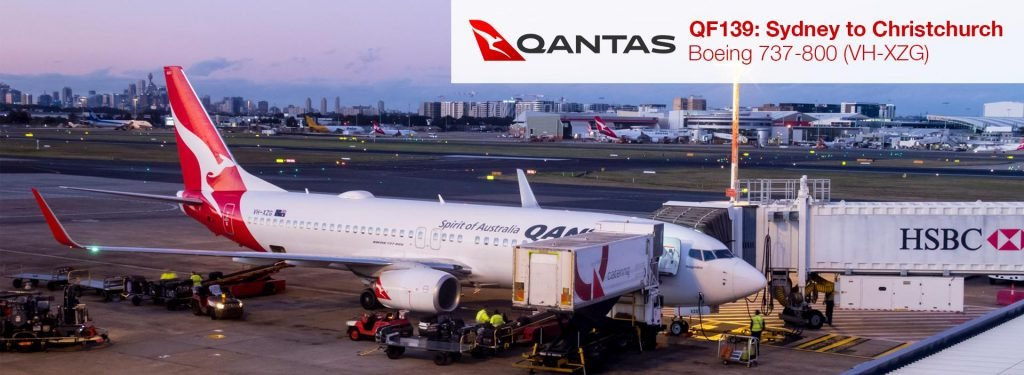 Flight Review: Qantas 737-800 Economy Class from Sydney to Christchurch