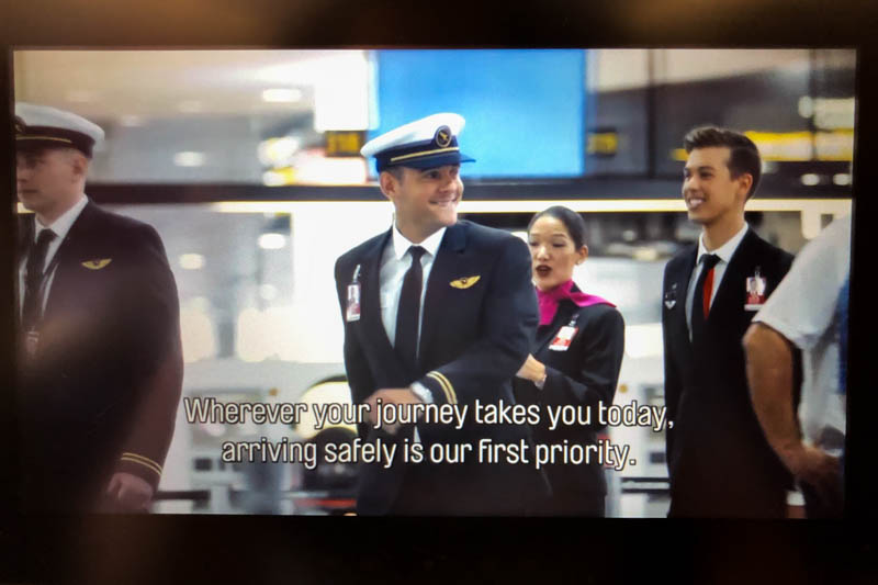 Qantas Safety Video
