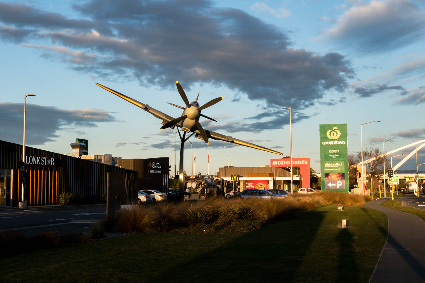 Spitfire Shopping Center Near Christchurch Airport