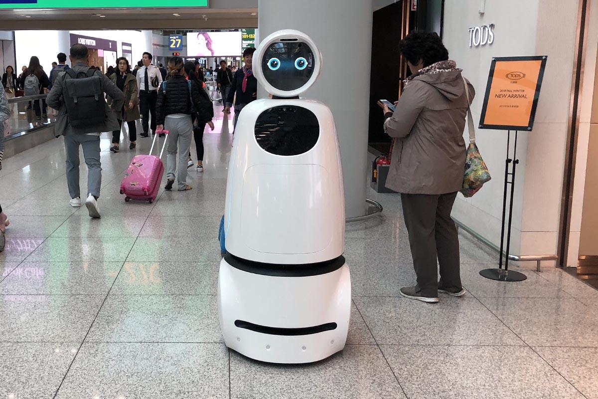 Airstar Guiding Robot