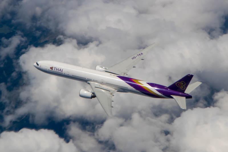 Air-to-Air with a Thai 777-300ER