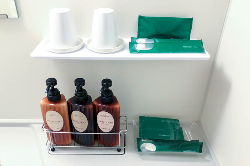 Hotel Route-Inn Chitose Toiletries