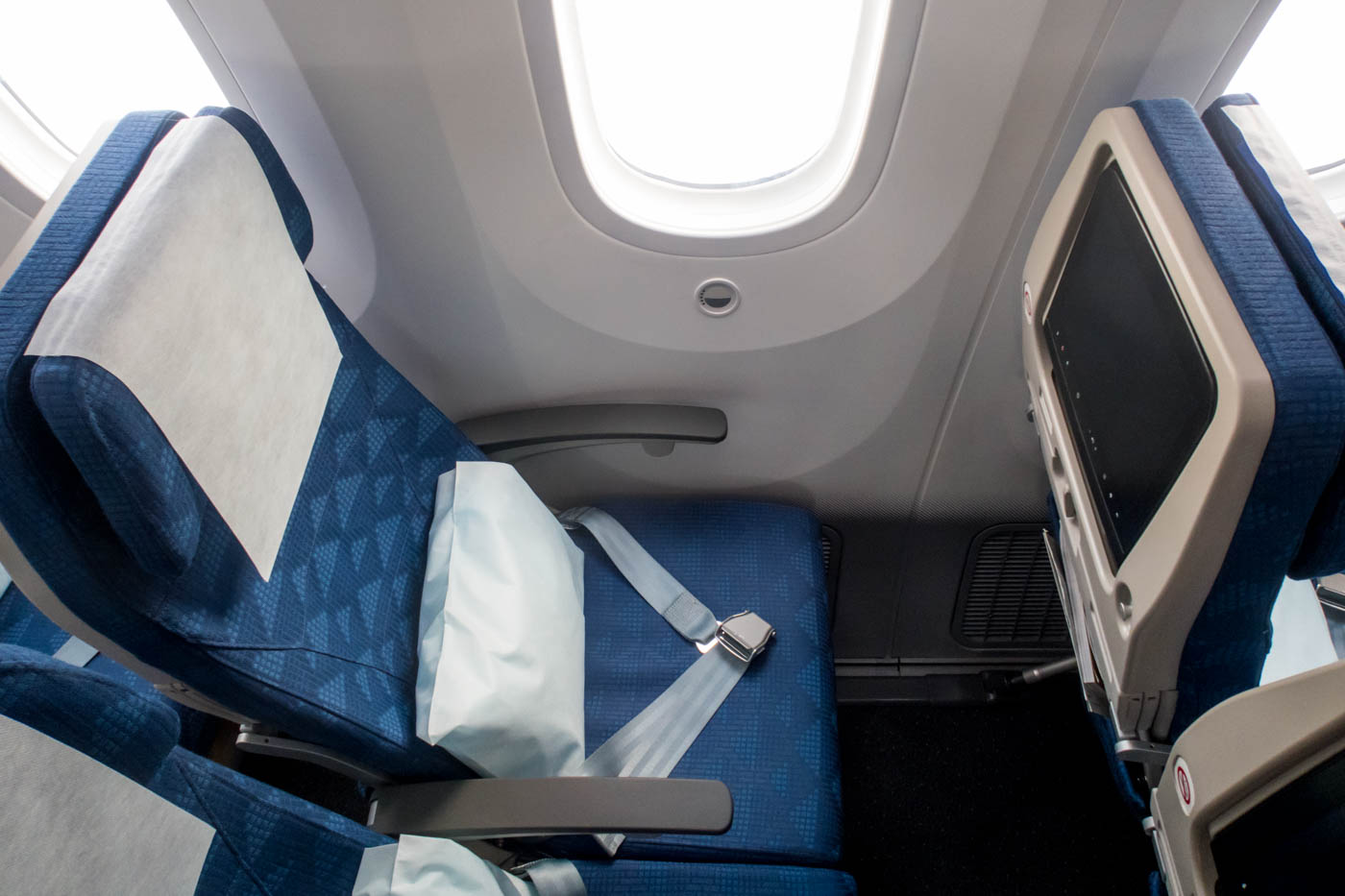 Korean Air Boeing 787-9 Economy Class Seat