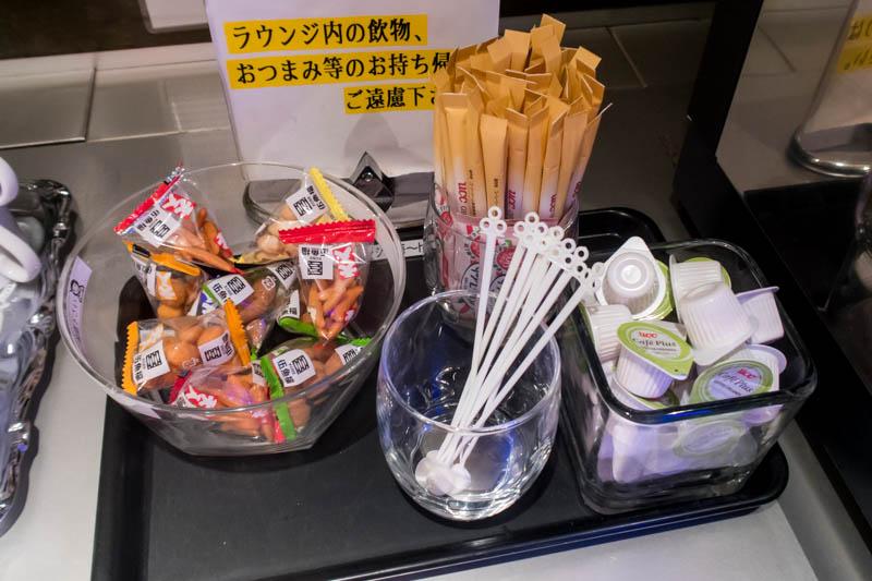 Lounge Hana Okinawa Snacks