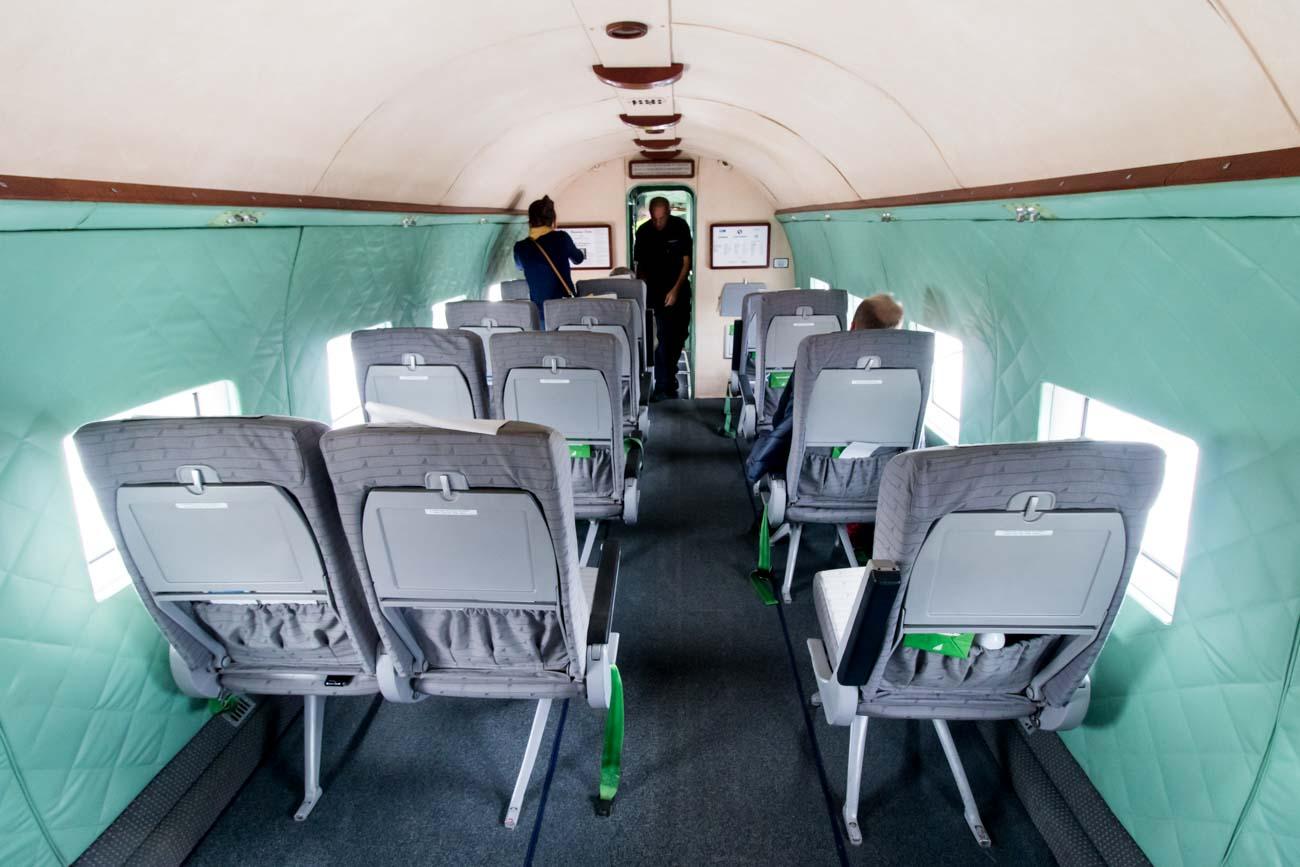 Malev Lisunov Li-2 Cabin
