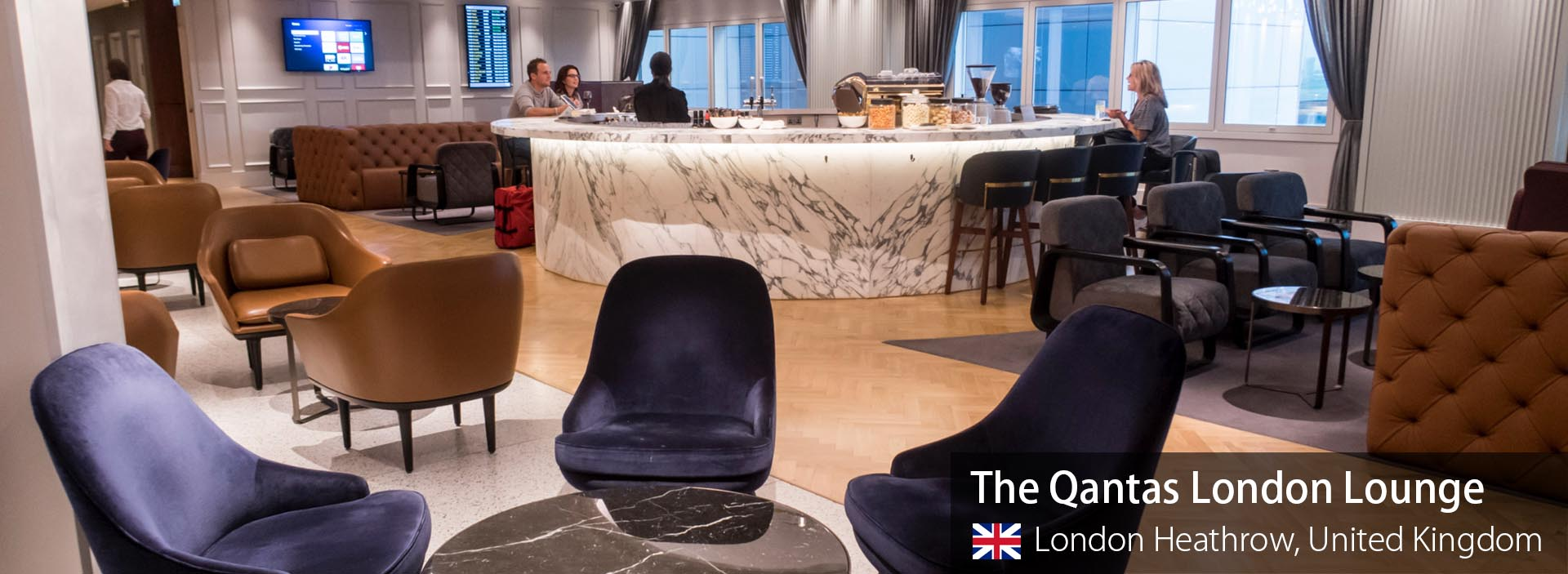 Lounge Review: The Qantas London Lounge at London Heathrow