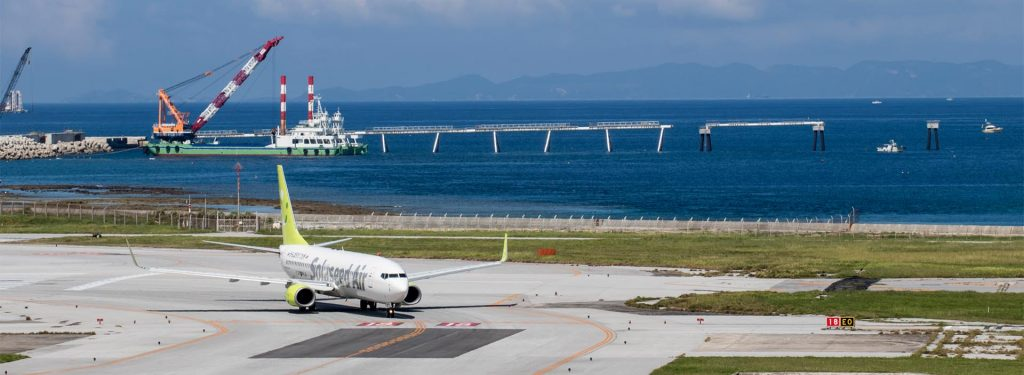 How Is Plane Spotting from Naha (Okinawa) Airport's Observation Decks?