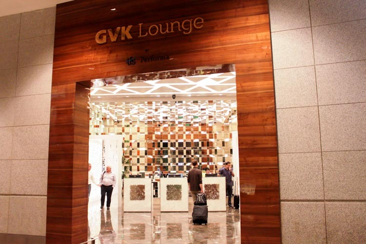 GVK Lounge Mumbai East Wing Entrance
