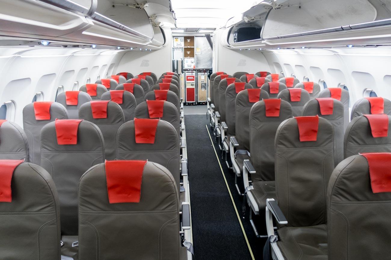 Iberia A320 Economy Class Cabin