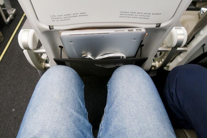 Iberia A320 Leg Room
