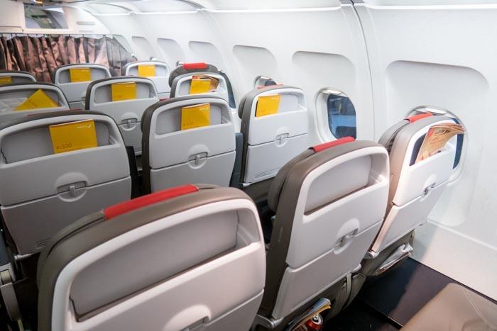 Iberia A320 Seats