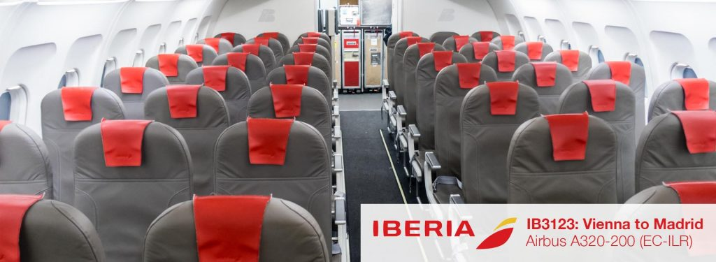Flight Review: Iberia A320 Economy Class from Vienna to Madrid