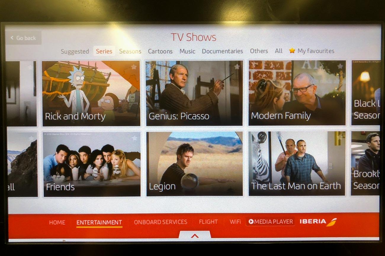 Iberia TV Shows