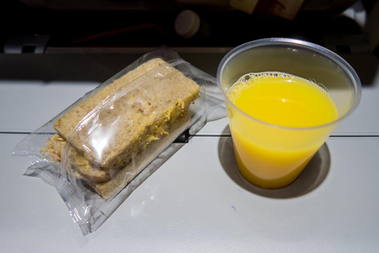 Iberia Mid-Flight Snack