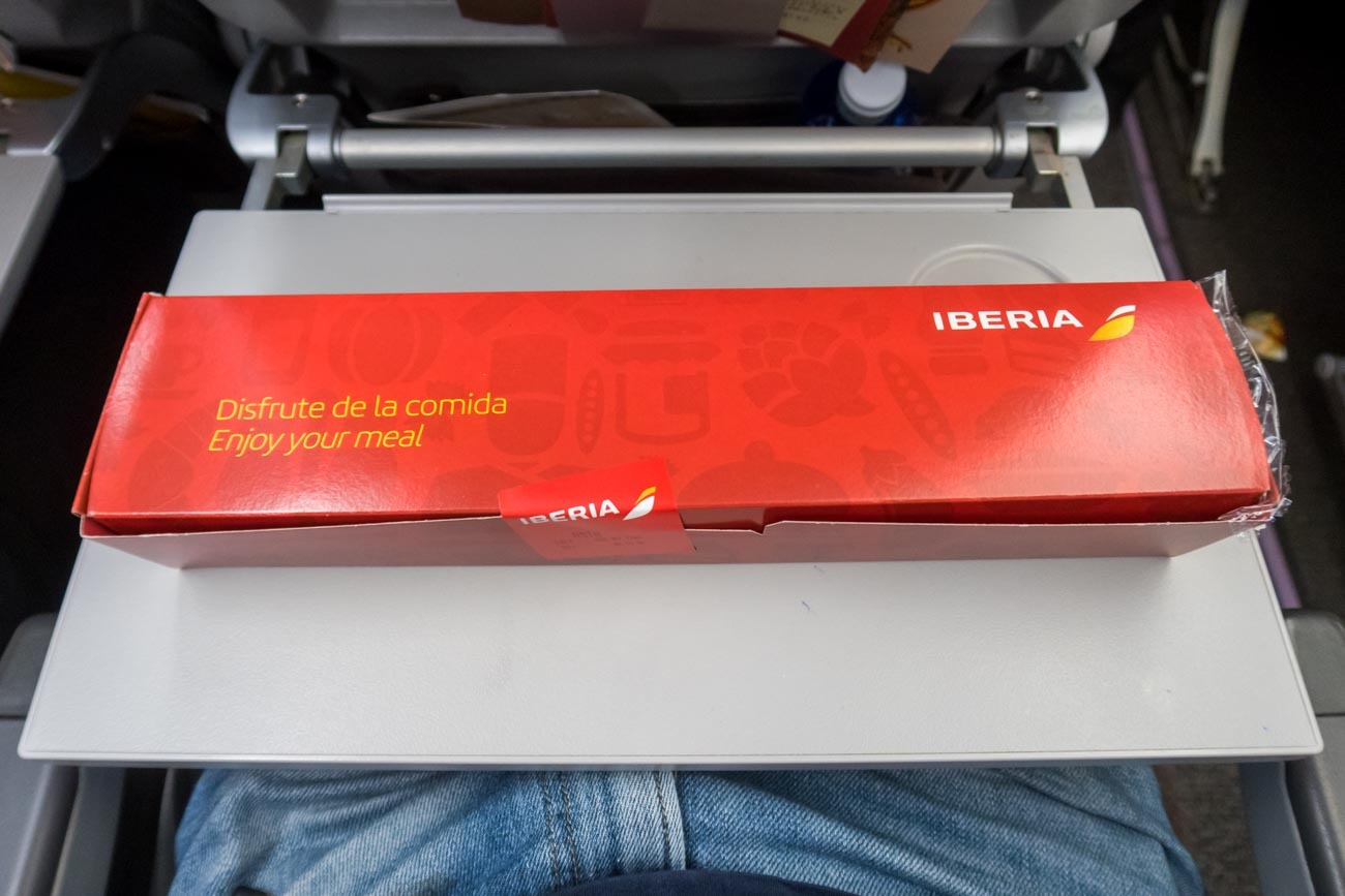 Iberia Long Haul Breakfast