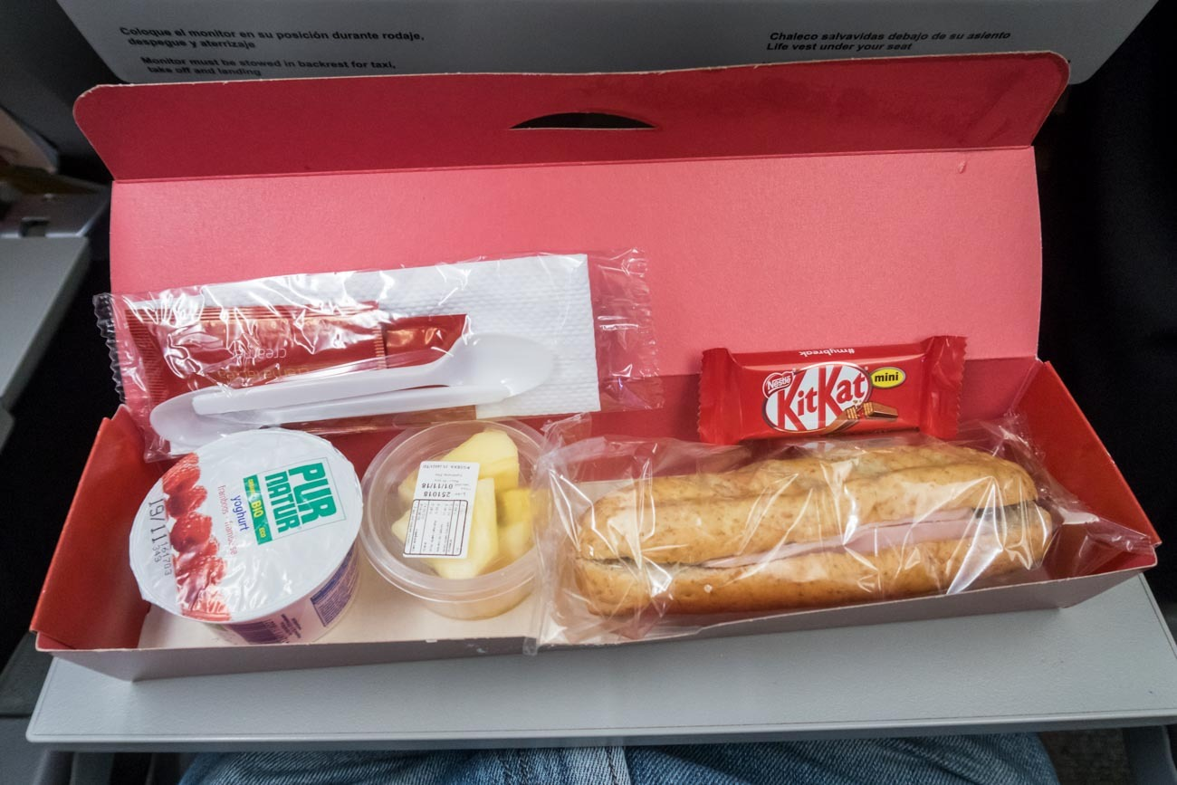 Iberia Breakfast Box