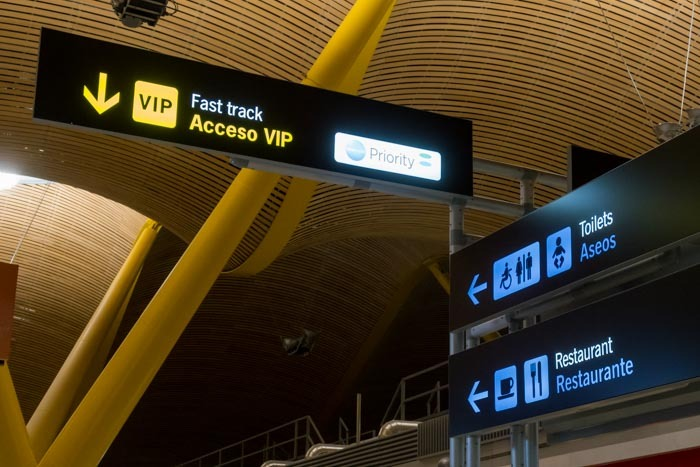 Madrid Airport Fast Track Security