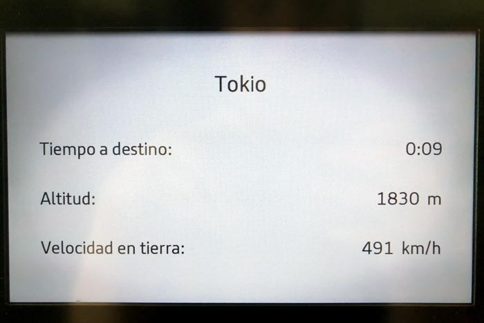 Iberia Flight from Madrid to Tokyo