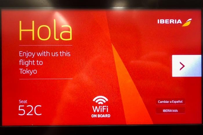 Iberia In-Flight Entertainment System
