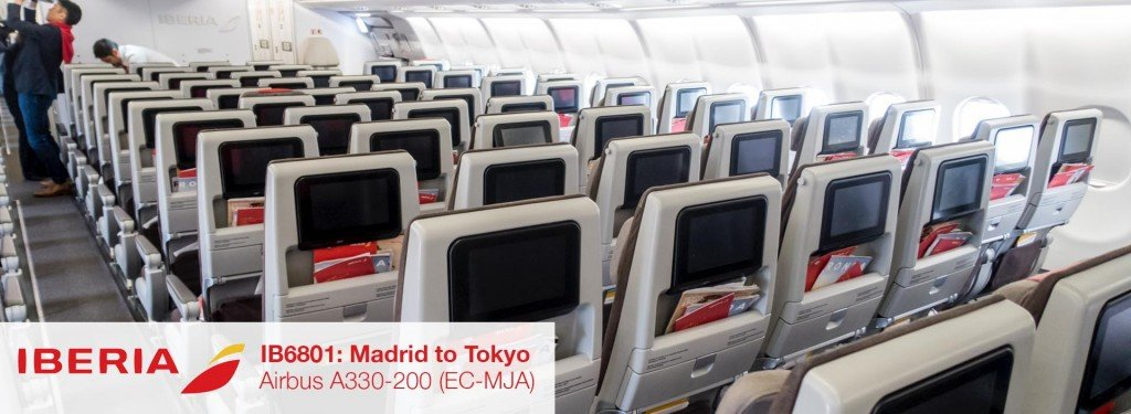 Flight Review: Iberia A330-200 Economy Class from Madrid to Tokyo Narita
