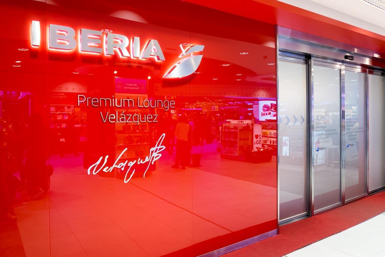 Iberia Premium Lounge Velazquez Madrid