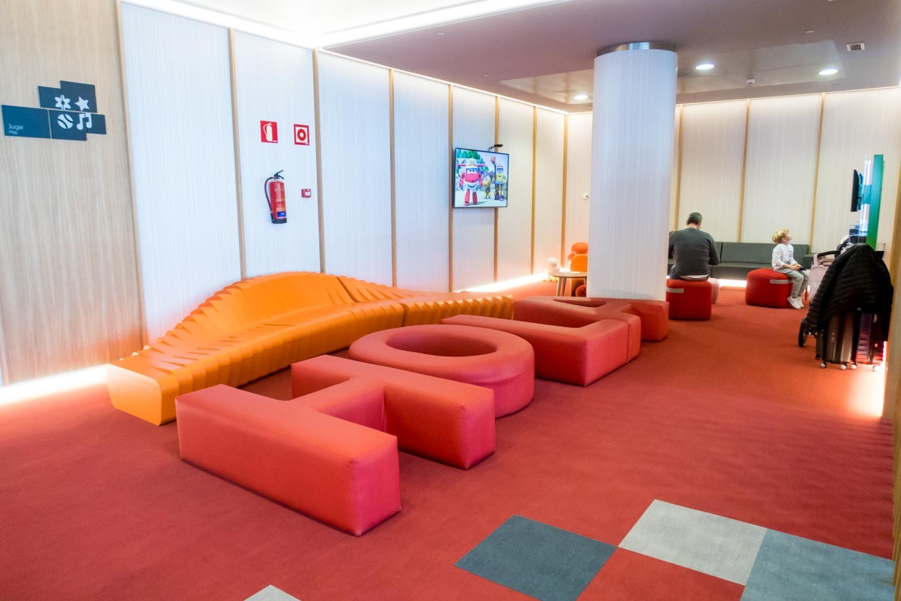 Iberia Premium Lounge Velazquez Madrid Kids Area