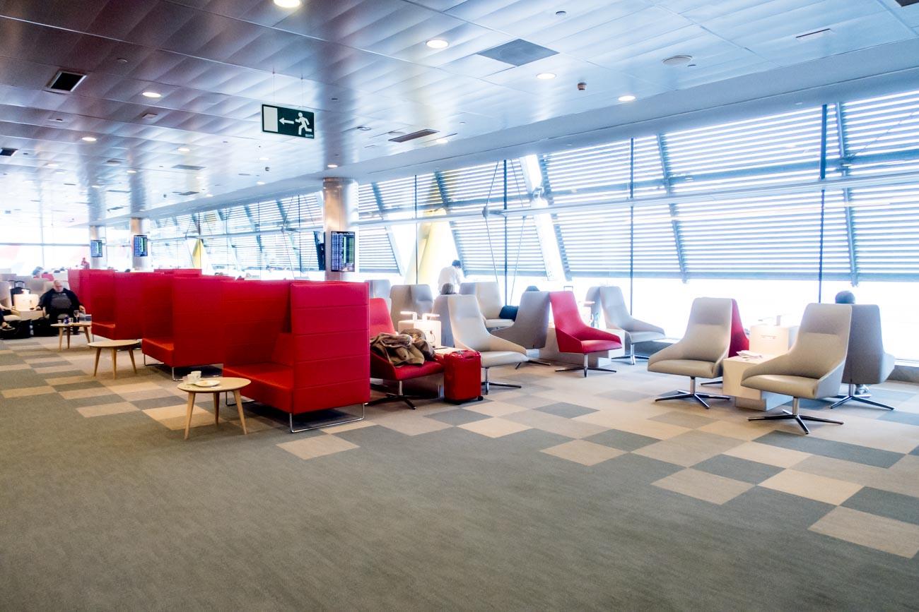 Iberia Premium Lounge Velazquez Madrid Overview