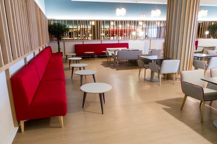 Iberia Premium Lounge Velazquez Madrid Dining Room