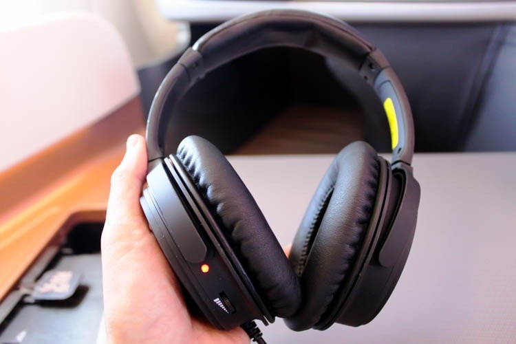 Singapore Airlines Headset