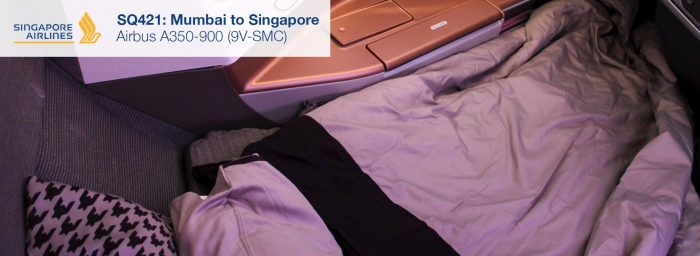 Flight Review: Singapore Airlines A350-900 Business Class from Mumbai to Singapore