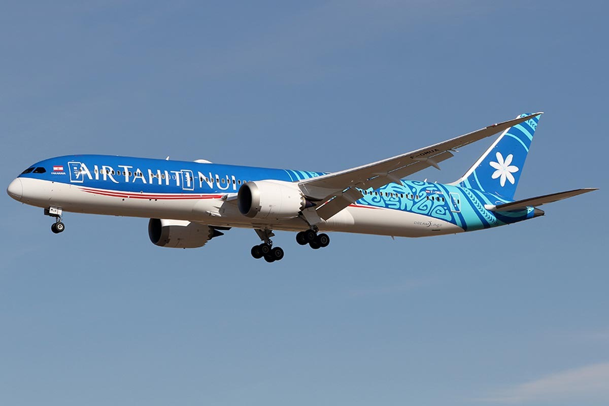Air Tahiti Nui Celebrate New Year Twice