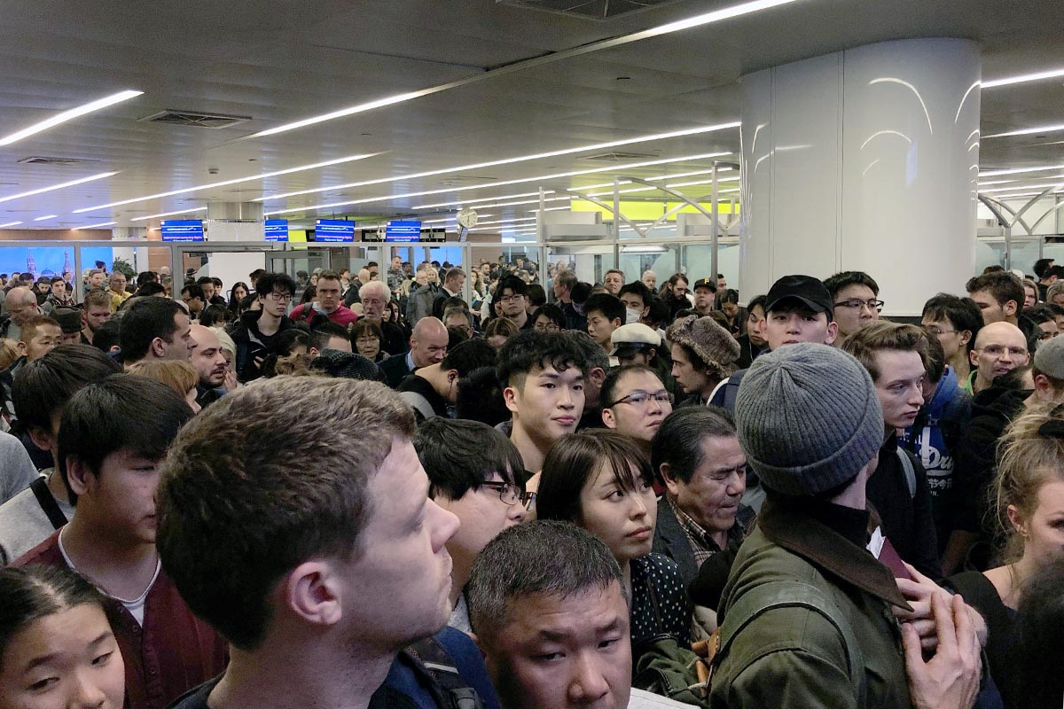 Transfer with Aeroflot through Moscow Sheremetyevo Airport