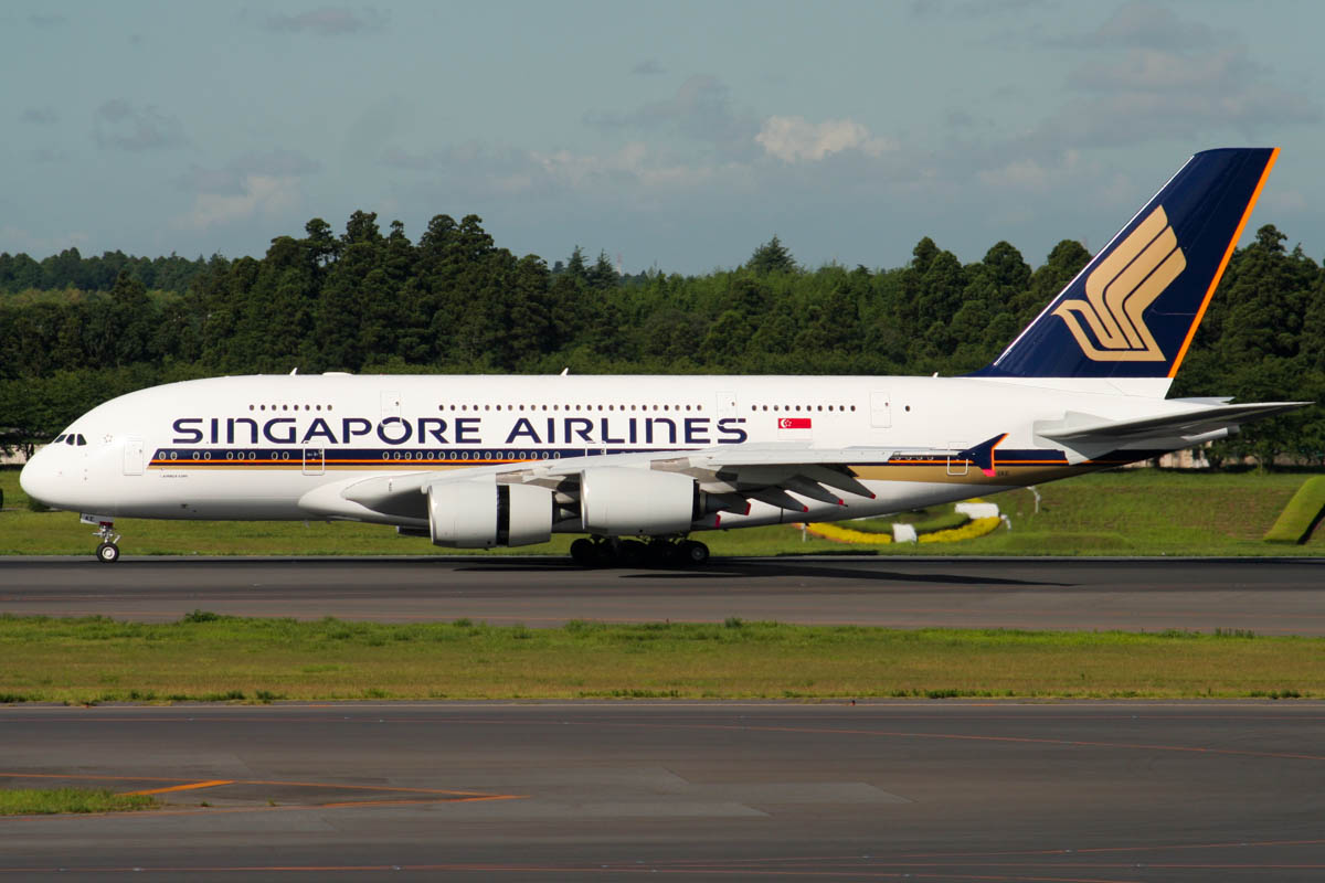 Singapore Airlines A380 - Launch Customer