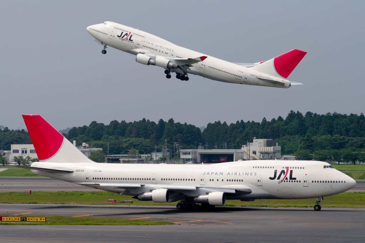 Former Largest 747 Operator Japan Airlines
