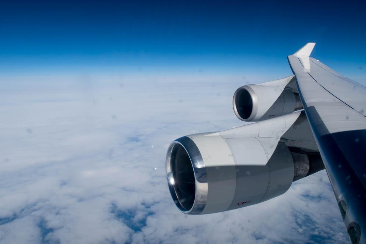 Boeing 747-400 Winglet