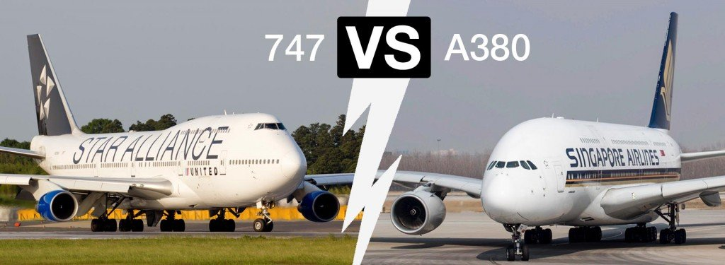 Airbus A380 vs. Boeing 747: The Ultimate Double-Decker Showdown