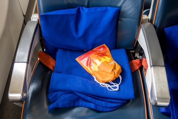 Aeroflot Economy Class Amenities