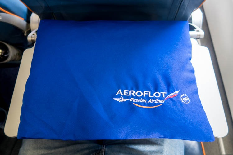 Aeroflot Economy Class Pillow