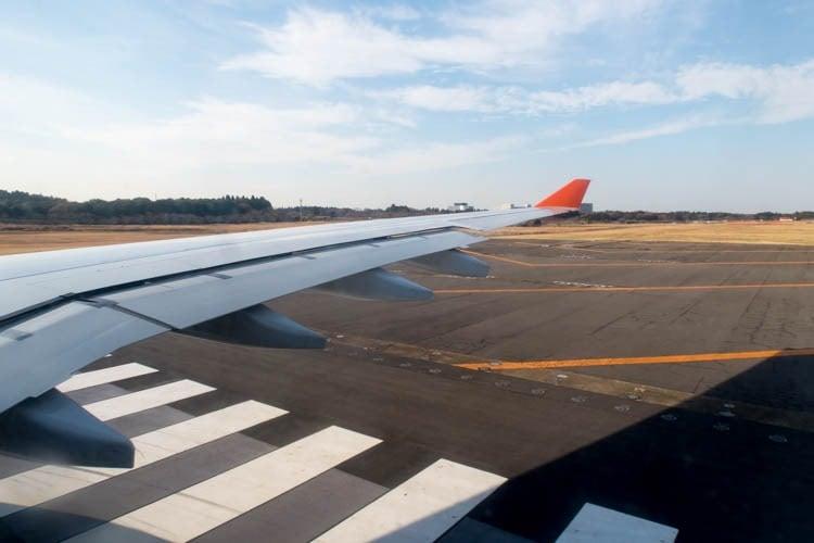 Tokyo Narita Runway 16R