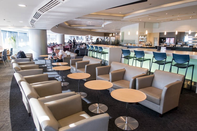 Delta Sky Club at Tokyo Narita Airport