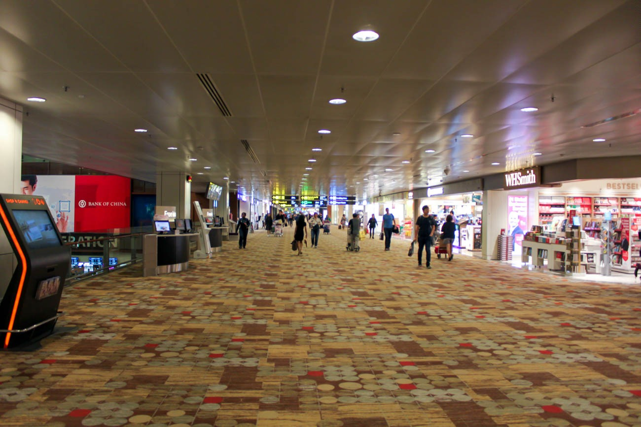 Singapore Changi Airport Terminal 1 Airside
