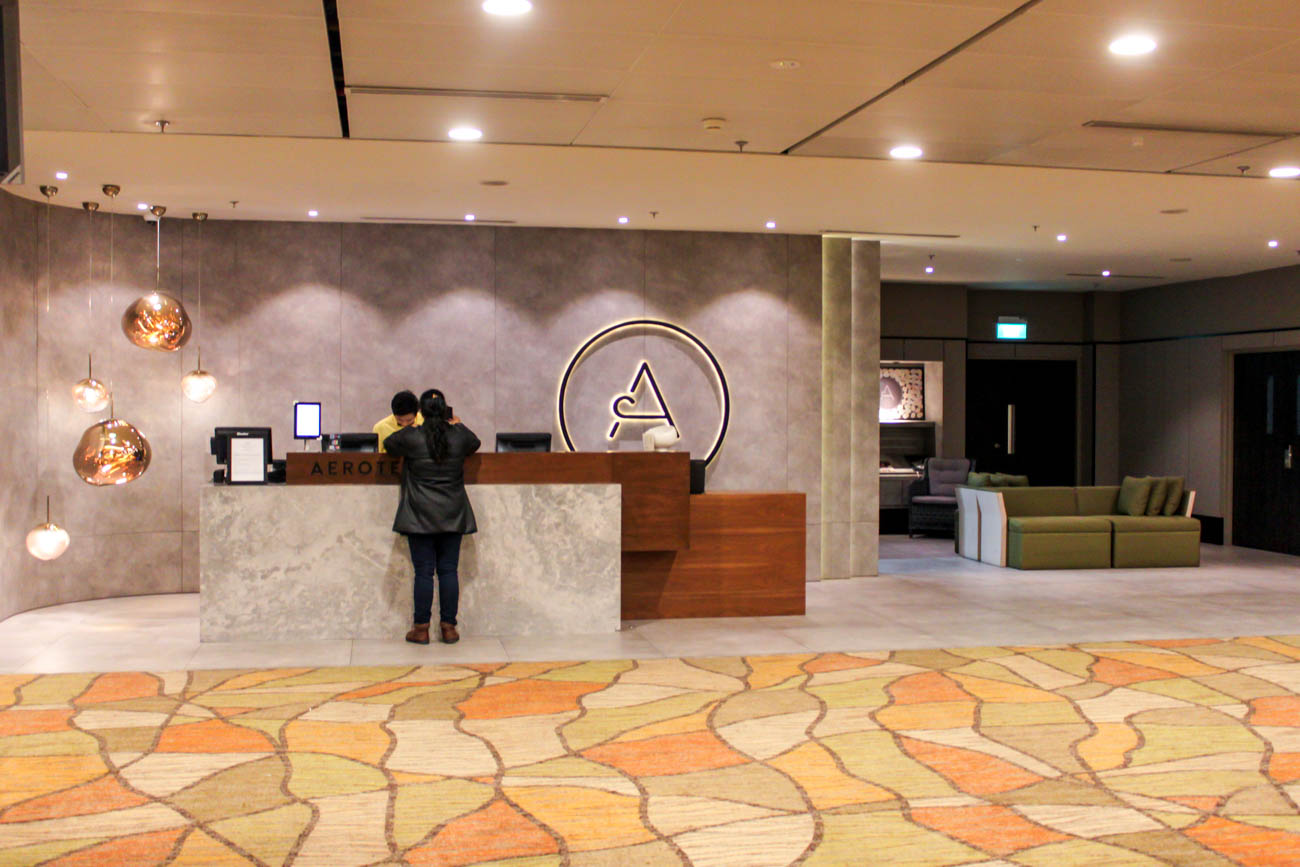Aerotel Transit Hotel Singapore Reception