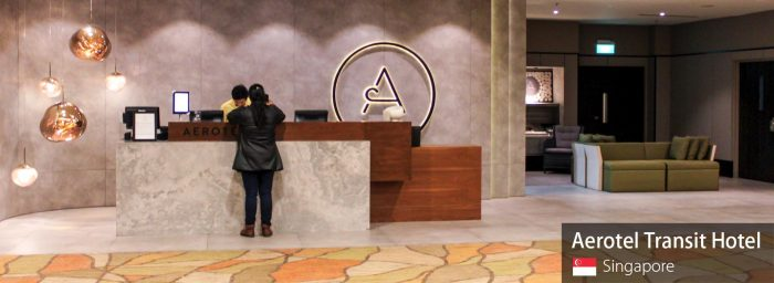 Review: Aerotel Transit Hotel Singapore Changi Airport